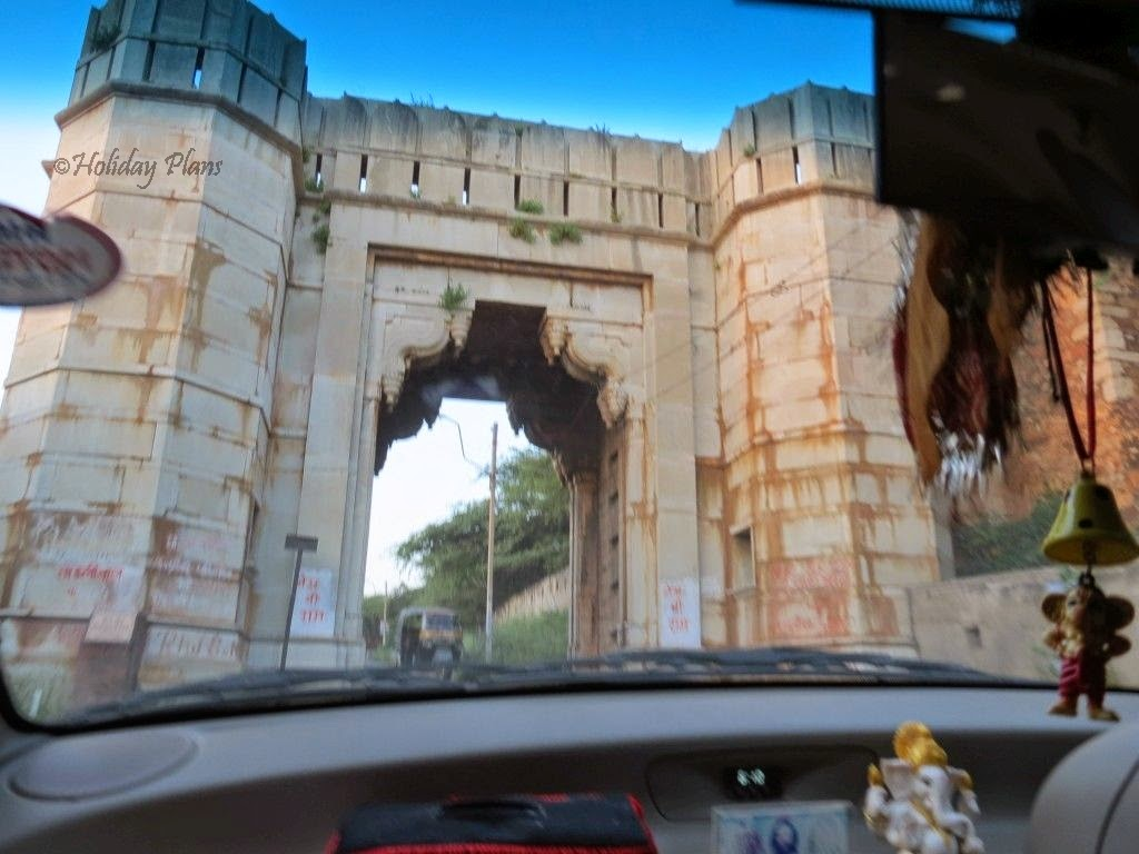 Entry Gate of the Chittorgarh Fort