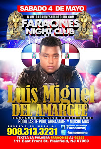 Luis Miguel del amargue@Faraones Night Club, USA
