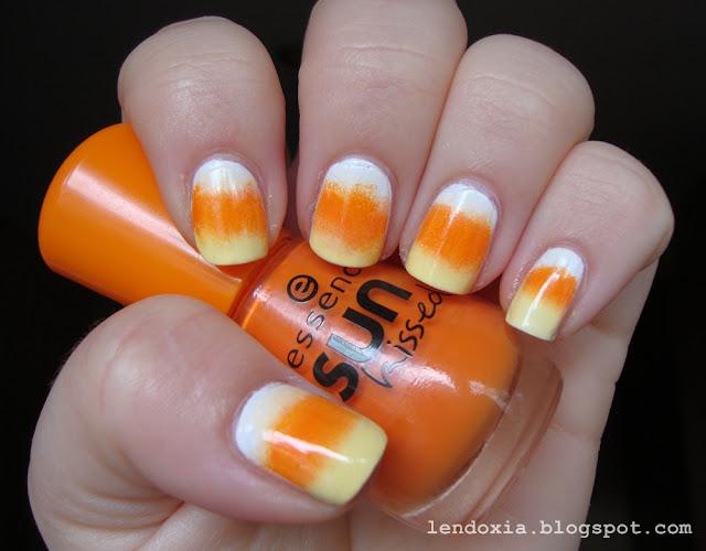 bijelo narancasto zuti gradient