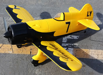Gee Bee Racer RC Airplane Image