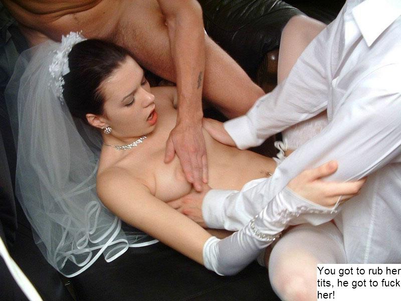 порно копилка невест в свадебном