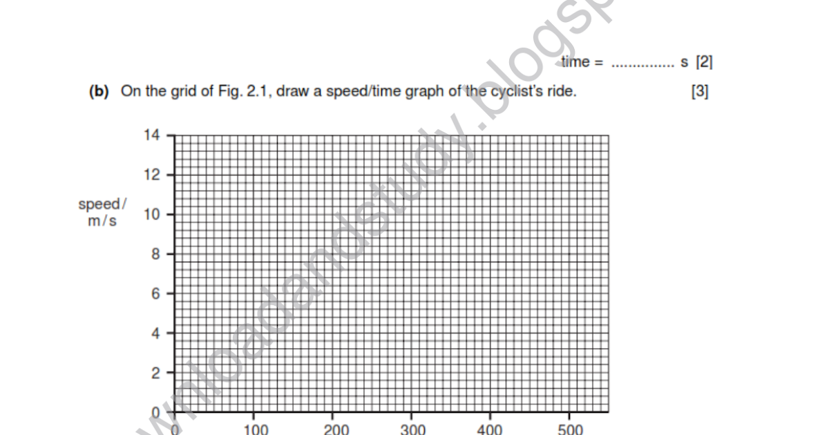 Download & Study: IGCSE Physics Test/ Worksheet - 1 Solved