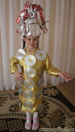 Космический костюм своими руками