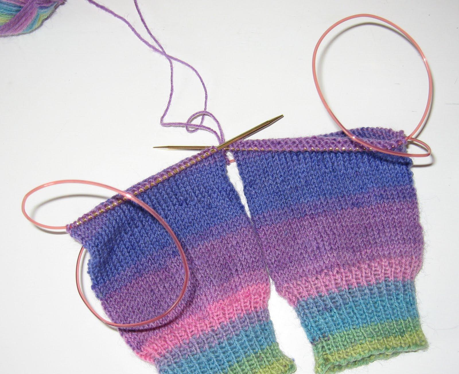 Jeg strikker mange sokker kan jeg ikke lige finde på andet at strikke
