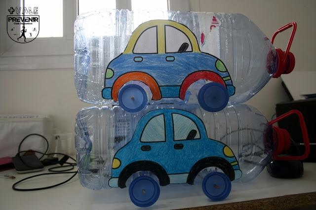 reciclar garrafa plastico juguete coche