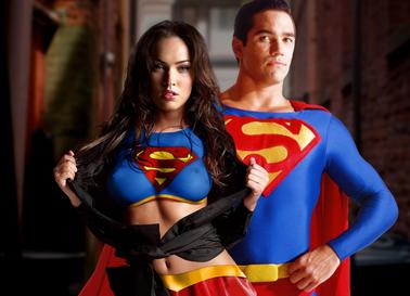 Megan fox as supergirl