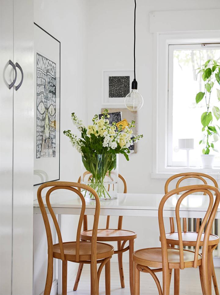 small and simple dining corner 79 ideas bloglovin. Black Bedroom Furniture Sets. Home Design Ideas