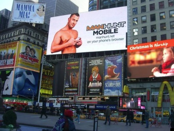 Times Square Gay Guy