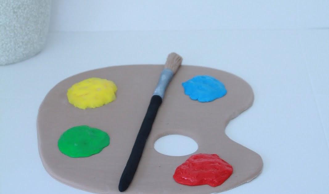 Blissfully Sweet: Artist Palette Cake Topper