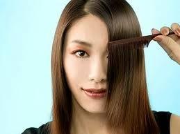 menghaluskan rambut