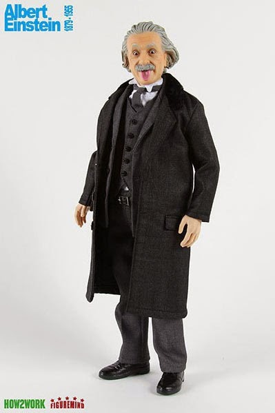 Figura Albert Einstein a escala
