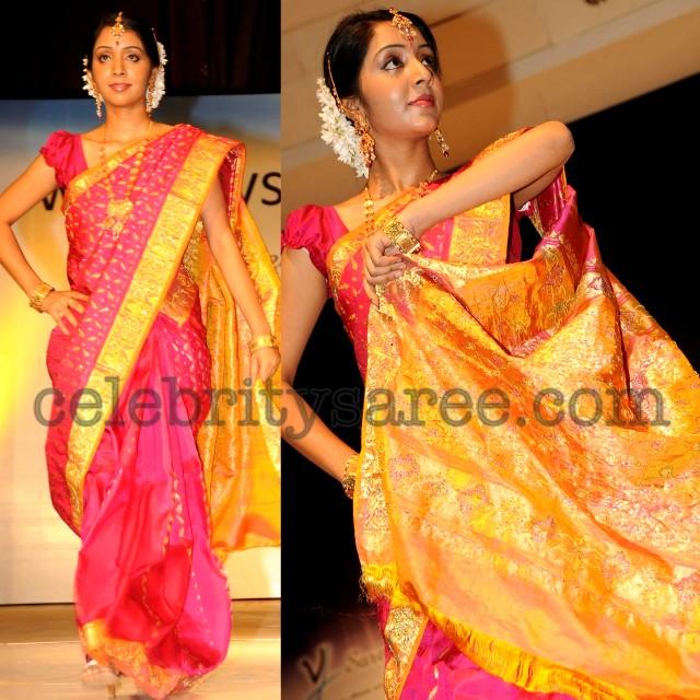 Silk Sarees Fashion Show Saree Blouse Patterns