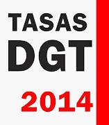 Tasas DGT para 2014