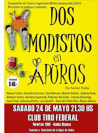 """"""" Dos Modistos en Apuros""""  en Club tiro Federa"""