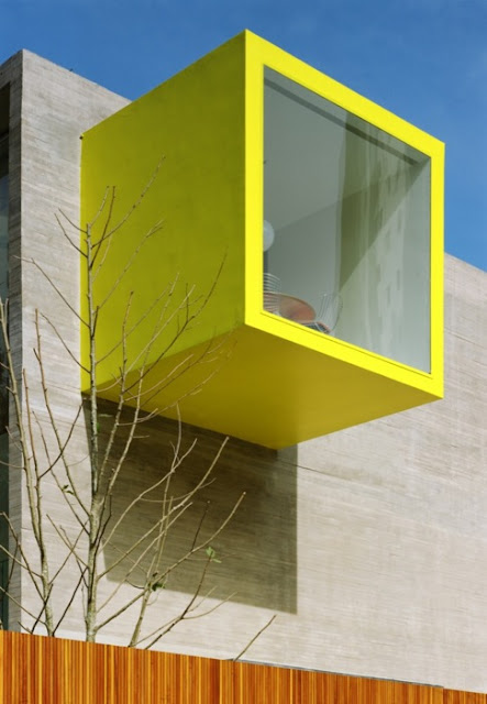 yellow square architecture, yellow modular architecture, tree yellow, colorful architecture, color balcony, modular architecture, modular photography, pattern architecture, pattern colored architecture, terrace colorful, deck photography architecure, primary color architecture