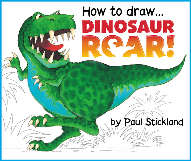 how to draw a dinosaur, dinosaur roar, dinosaurs, kids dinosaurs,