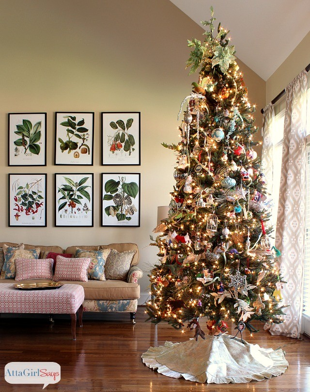 Atta Girl Says Christmas Tree- How I Found My Style Sundays- From My Front Porch To Yours