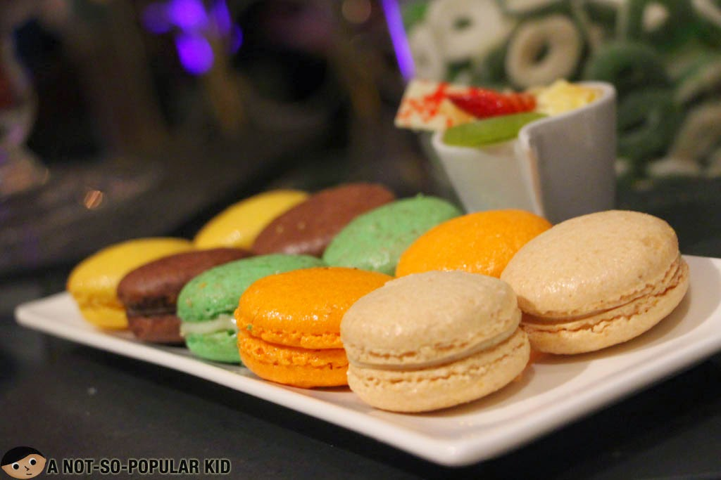 Assorted macarons of the Diamond Hotel