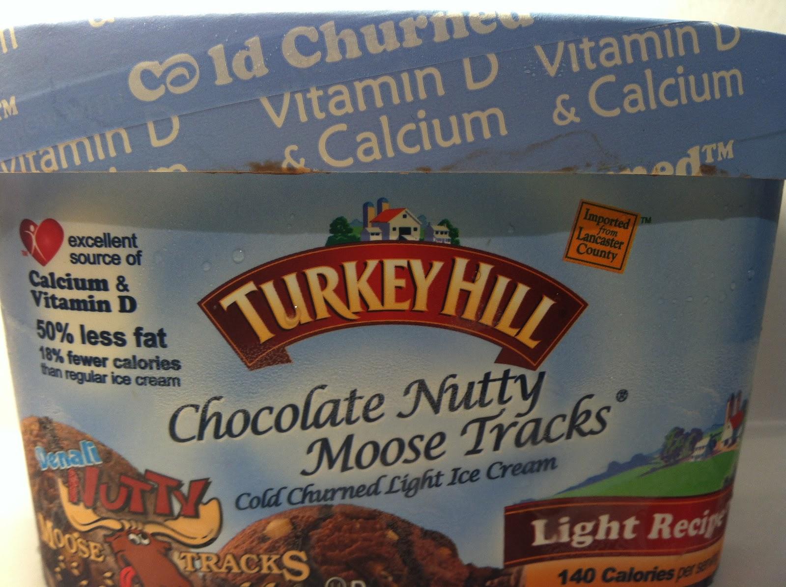 Chocolate Moose Tracks Ice Cream Moose Tracks Light Ice