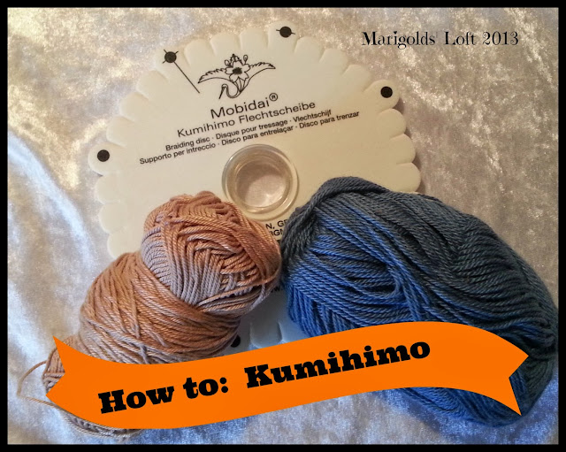 how to kumihimo