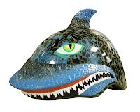 Raskullz Helmet Shark in action
