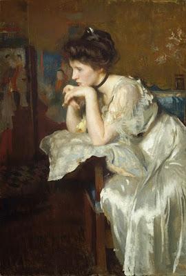 reverie-edmund-tarbell-1913