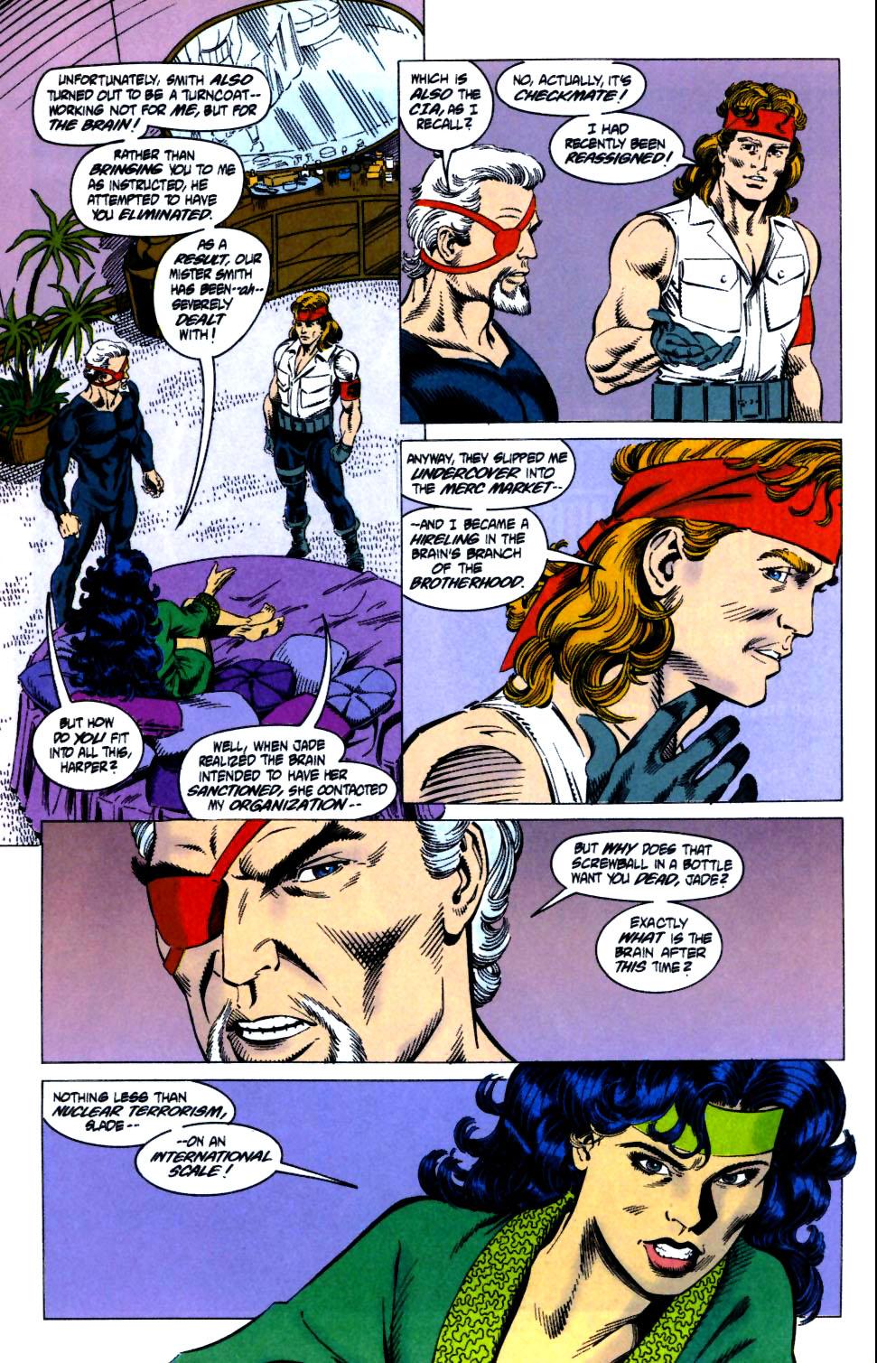 Deathstroke (1991) Issue #18 #23 - English 22