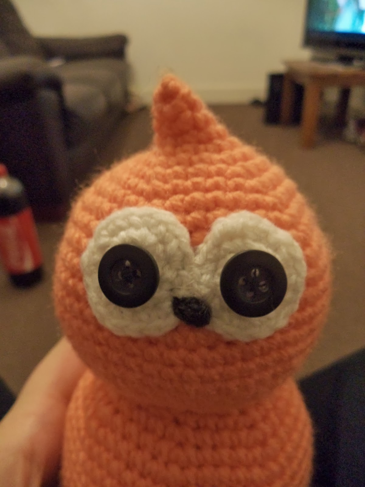 Serial Thriller: An orange poo named Zingy