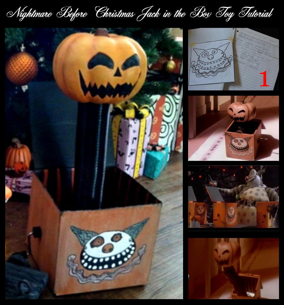 ... Christmas Halloween Props: Nightmare Before Christmas Jack in the Box