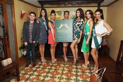 Candidatas llegan a Manila, Filipinas - Miss Earth 2014