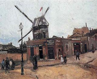 Van Gogh-Le Moulin de la Galette