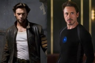 Wolverine v Tony Stark...yeah we'd watch that fight!