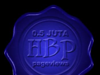 Countdown 0.5 Juta Pageviews