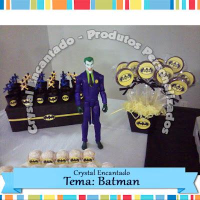 Decoração Festa Batman
