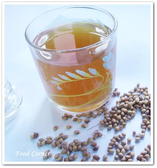Ginger & Corriander Tea (Inguru Koththamalli)