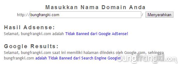 Cara Mengetahui Akun Adsense Atau Search Engine Blog Dibanned Oleh Google