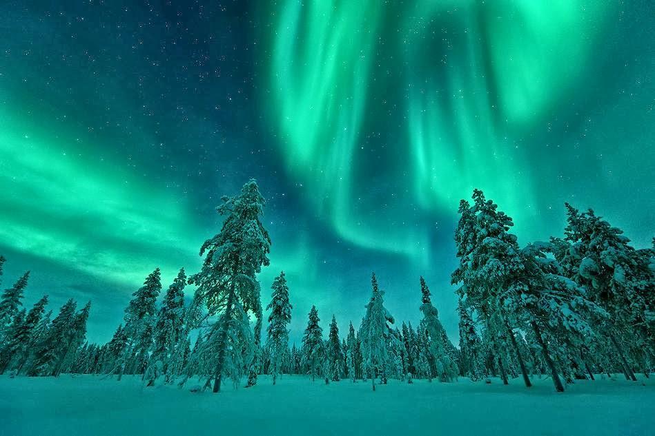 Chi viaggia impara immagini dal mondo finlandia f for Aurora boreale sfondo