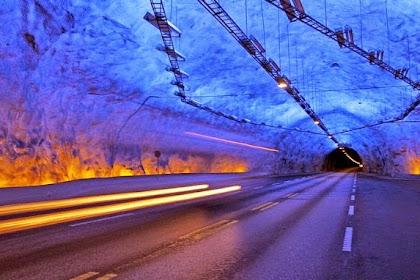 Melihat Terowongan Terpanjang di Dunia