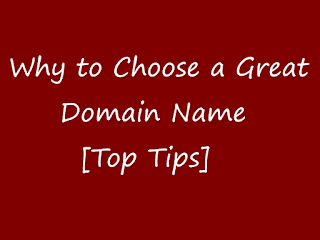how to choose Domain Name Tips