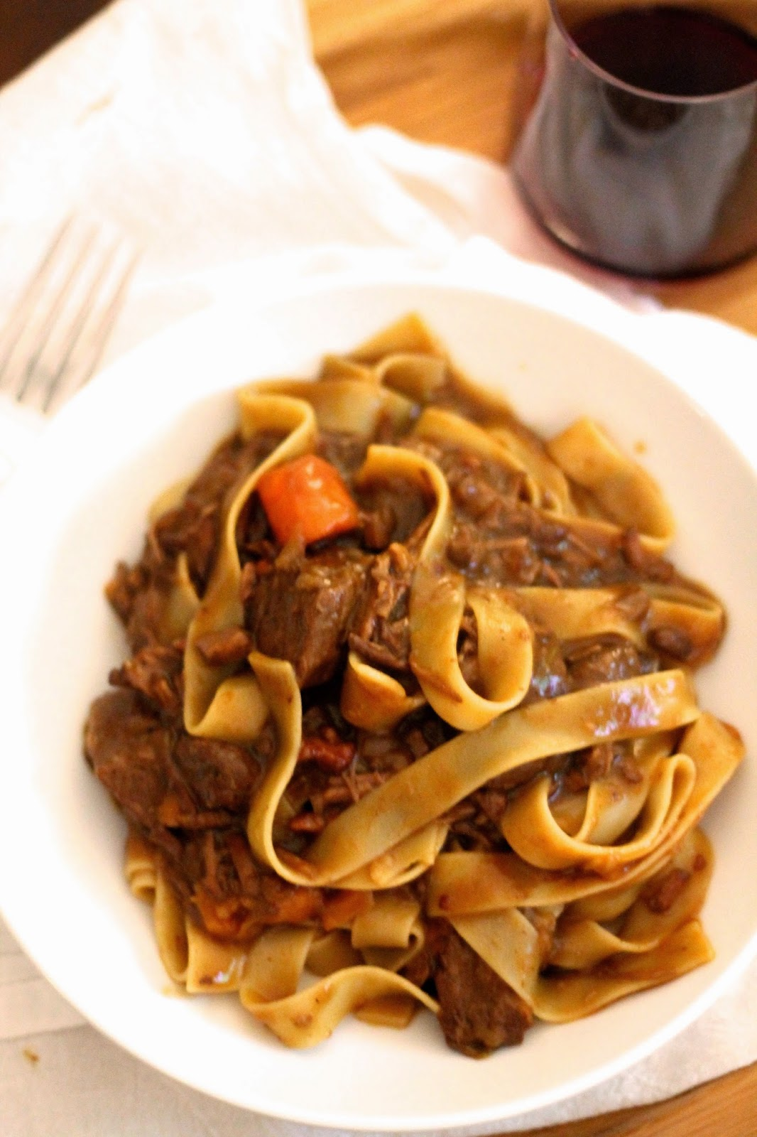 Young and Entertaining: Braised Beef Pappardelle