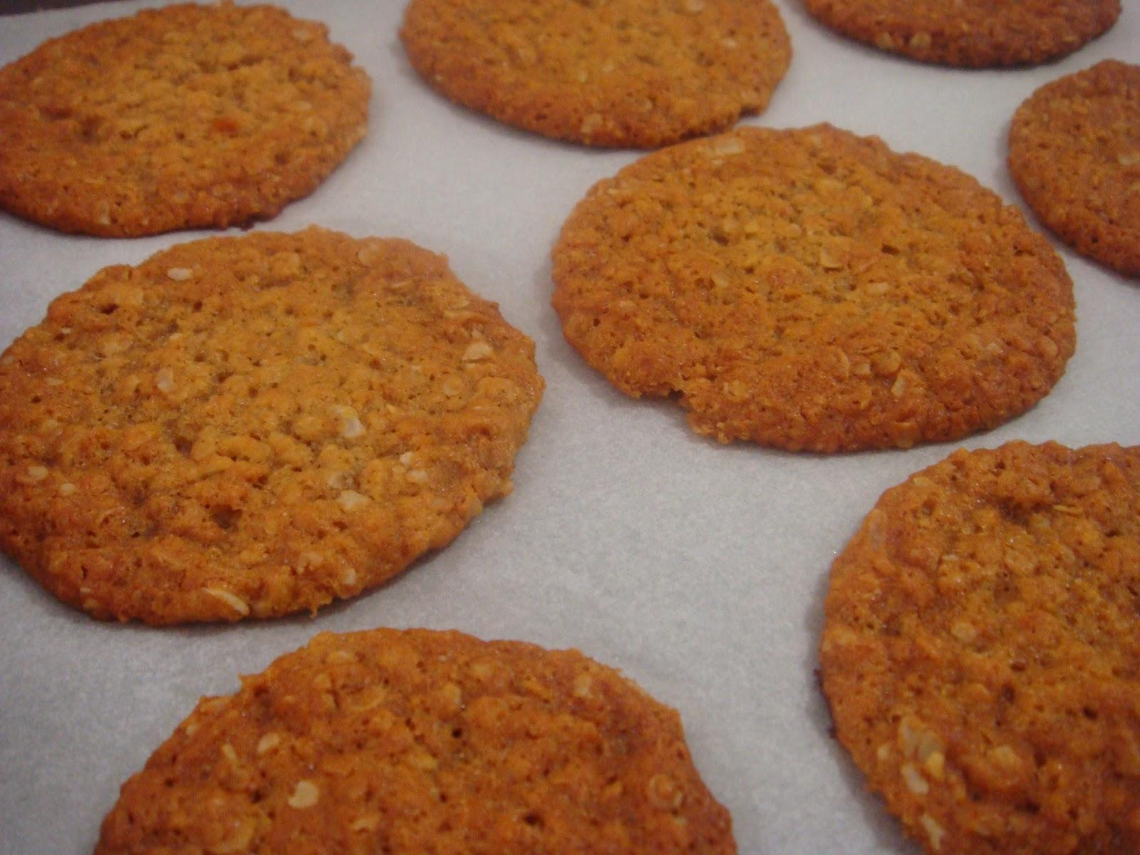 butter hearts sugar: Anzac Biscuits