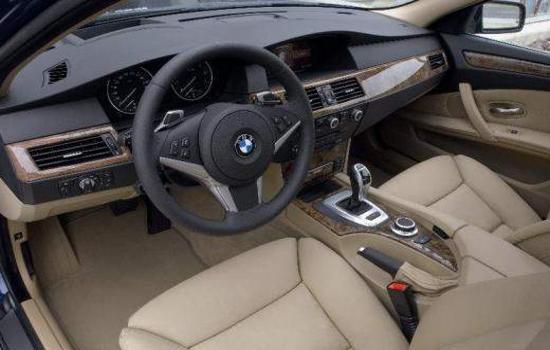BMW 525d review Interior