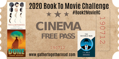 2020 Book to Movie Reading Challenge