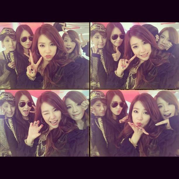 Seohyun,Yuri,Tiffany & Taeyeon
