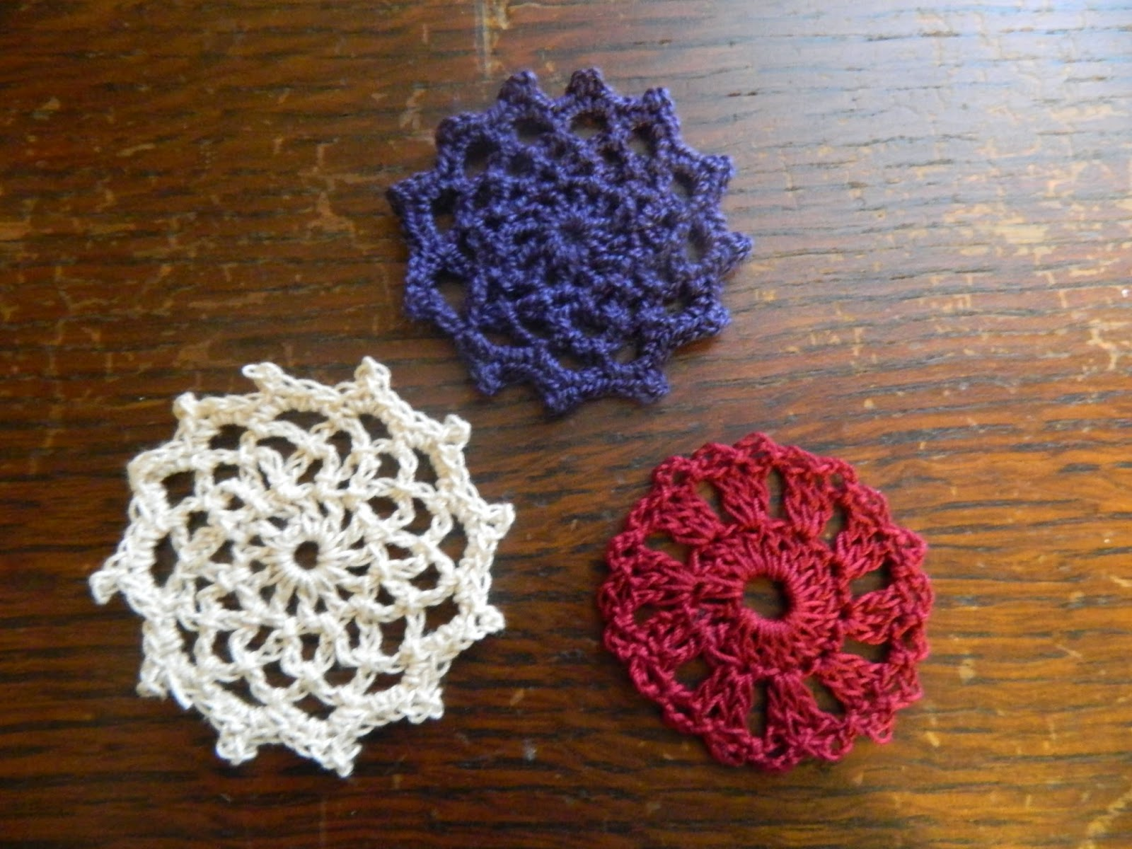 Foothills Of The Great Smoky Mountains Spool Pin Doily Pattern