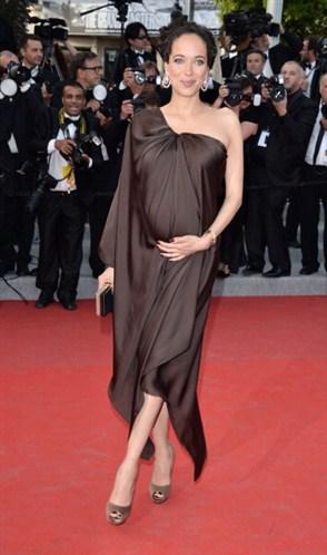 Carmen Chaplin Cannes 2012