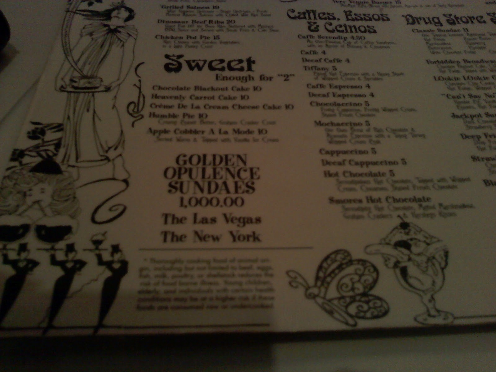 Simply food frenzy serendipity 3 in las vegas rocks for Definition of opulance