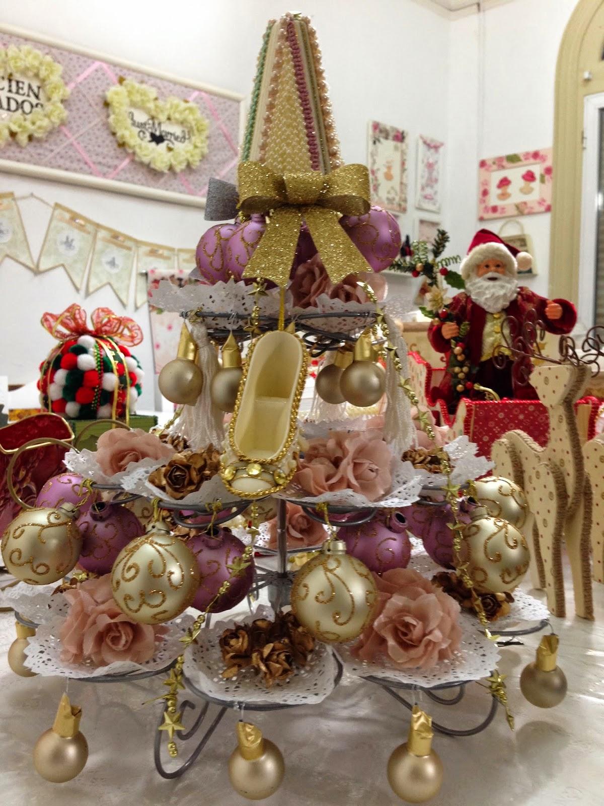 Shabby chic decoracion navidad - Navidad shabby chic ...