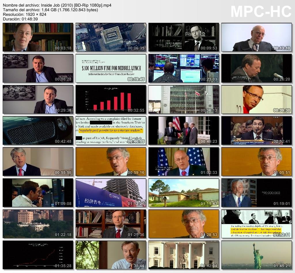 Inside Job (2010) [BD-Rip 1080p.]