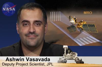 Ashwin Vasavada. Deputy Project Scientist, Weather Prediction. NASA/JPL 2012.